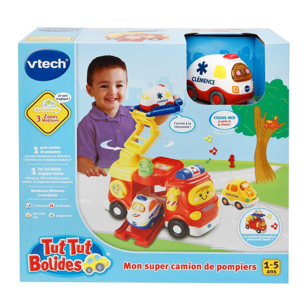 Mon super camion de pompiers VTECH