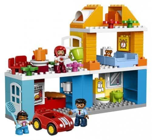 Maison de famille LEGO® DUPLO® 10835 Nombre de LEGO .