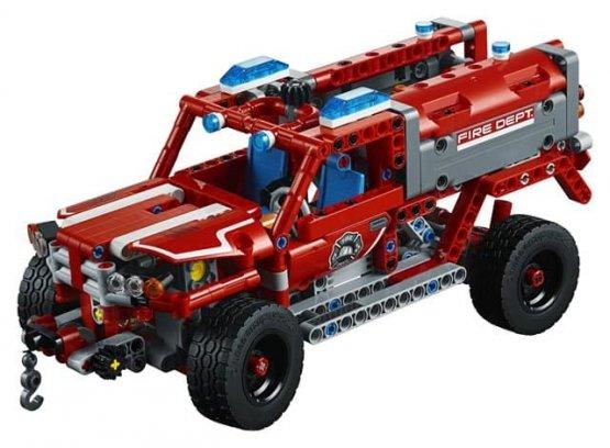 LEGO® TECHNIC First répondeur Véhicule de premier secours Véhicule de premier secours Véhicule de premier secours