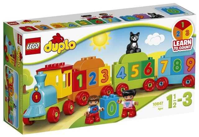 Le train des chiffres – LEGO