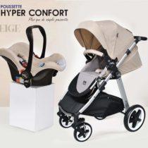 pousette,hyper confort,bébé,enfant , tunisiebeige