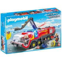 Play mobil pompiers avec véhicule