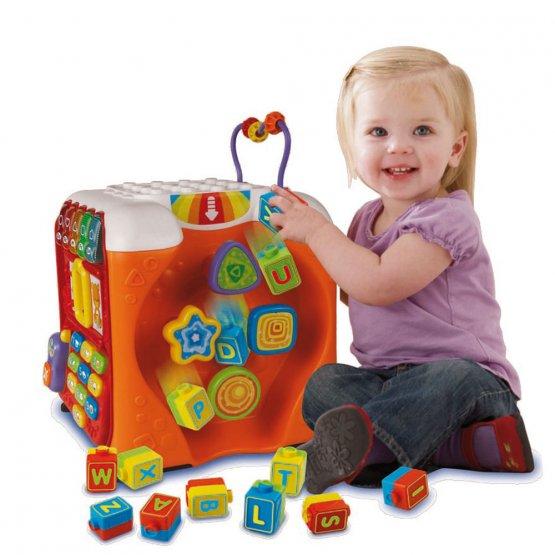 maxi cube d'activité v tech p'tit ange bébé jouet Tunisie