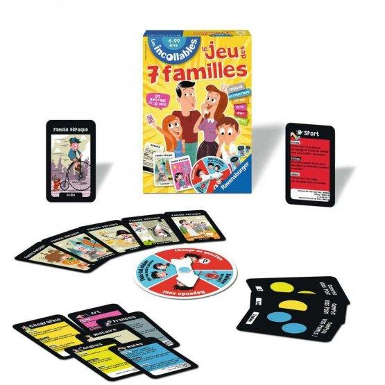 jeu des 7 Familles ptit ange ennasr jouet tunisie