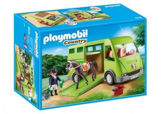 Playmobil 6928 COUNTRY Cavalier avec van et cheval