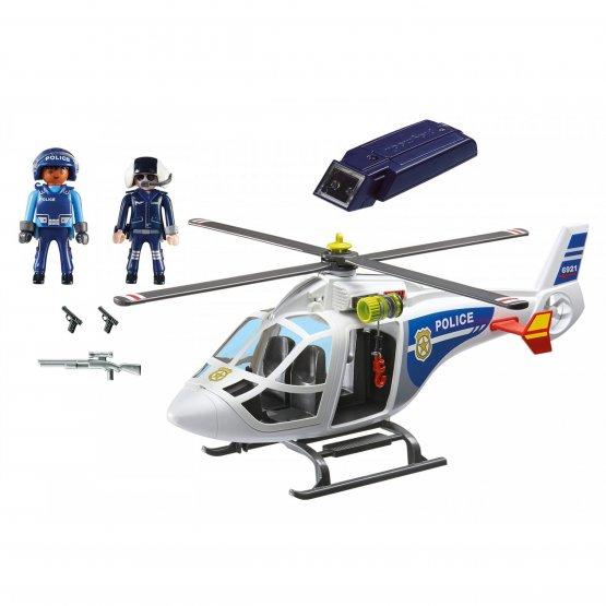 Playmobil 6921 Hélicoptère De Police Avec Projecteur p'tit ange enfant jouet tunisie