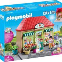 PLAYMOBIL 70016 - City Life - Magasin de fleurs p'tit ange jouet enfat tunisie