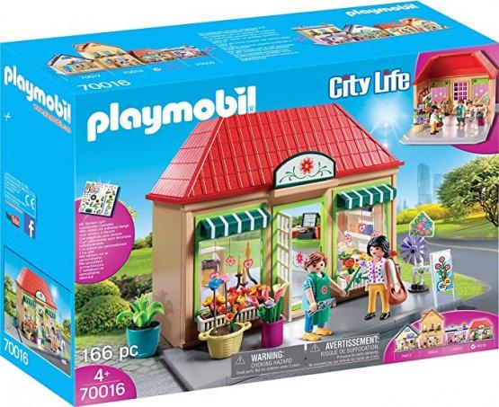 PLAYMOBIL 70016 – City Life – Magasin de fleurs