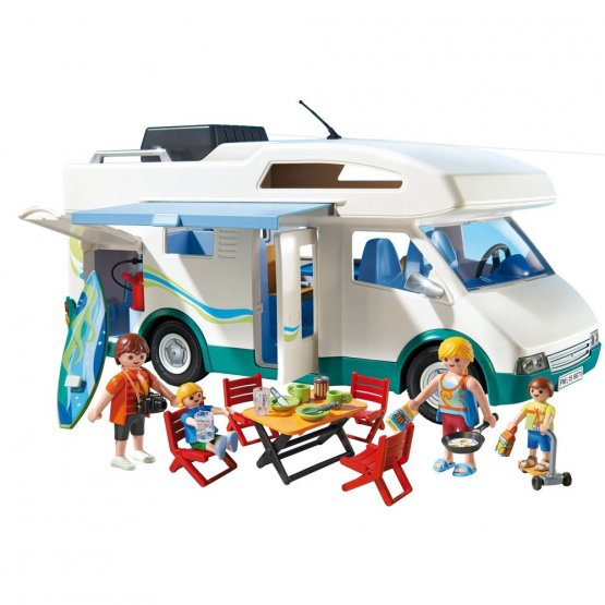 Playmobil 6671 Famille avec camping-car p'tit ange jouet enfant tunisie