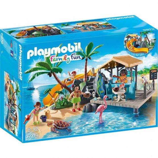 PLymobil 6979 des Caraïbes avec bar de plage