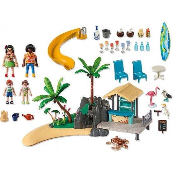 PLymobil 6979 des Caraïbes avec bar de plage p'tit ange jouet tunisie