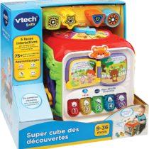 maxi cube d'activité vtech p'tit ange bébé jouet tunisie