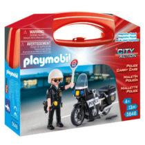 Petite mallette de transport Playmobil 5648 Police p'tit ange enfant tunisie