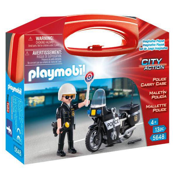 Playmobil 5648 Mallette Transportable de Police