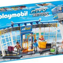 Playmobil - 5338 - Jeu - Aéroport avec Tour de Contrôle p'tit ange enfant Tunisie