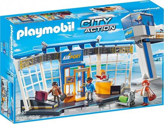Playmobil – 5338 – Jeu – Aéroport avec Tour de Contrôle