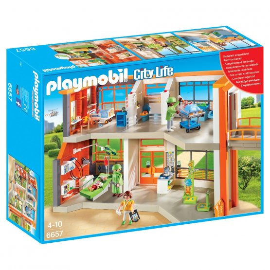 Playmobil 6657 Hôpital pédiatrique aménagé