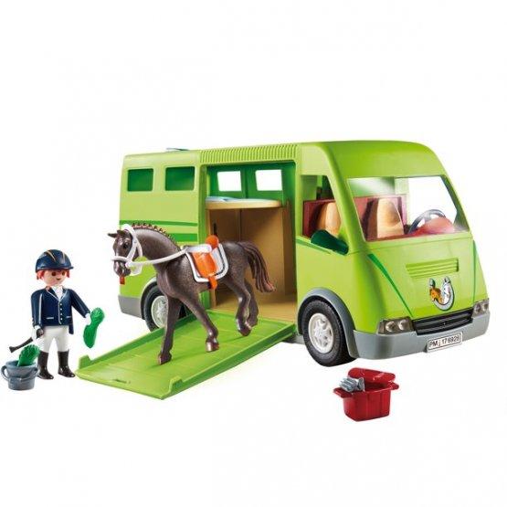 Playmobil6928 COUNTRY Cavalier avec van et cheval p'tit ange jouet enfant tunisie