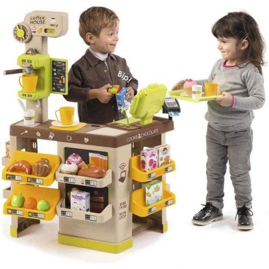 coffee house smoby p'tit ange enfant jouet tunisie