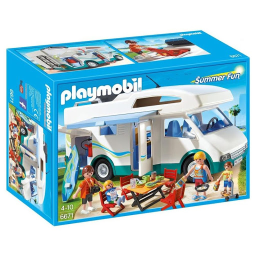 Playmobil 6671 Famille avec camping-car
