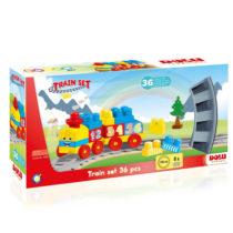 Jeu de construction Dolu - Train, 36 pièces jouet enfant p'tit ange tunisie
