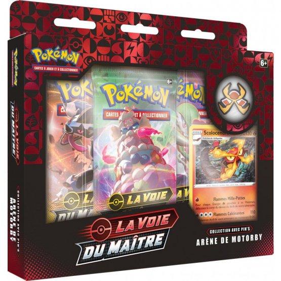 Coffret Pokémon – Assortiment Pin's 3 Arènes – Épée et Bouclier 3.5