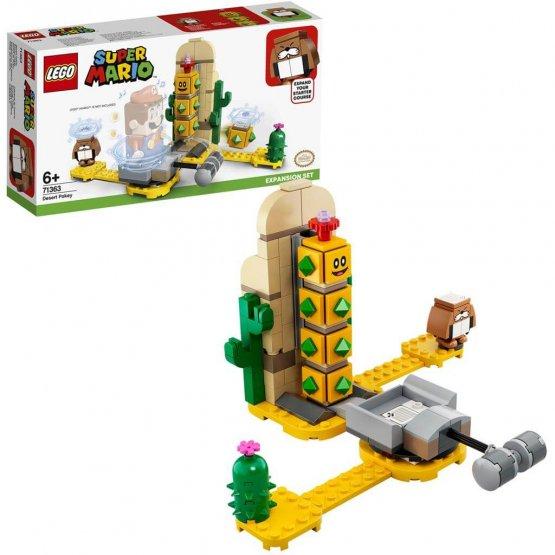 LEGO Super MarioLEGO 71363 Ensemble d'extension Pokey du désert enfant jouet p'tit ange tunisie