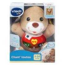 Peluche musicale Chant'toutou brun jouet vtech bébé p'tit ange tunisie