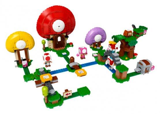 LEGO 71368 Ensemble d'extension de la chasse au trésor de Toad jouet enfant p'tit ange tunisie
