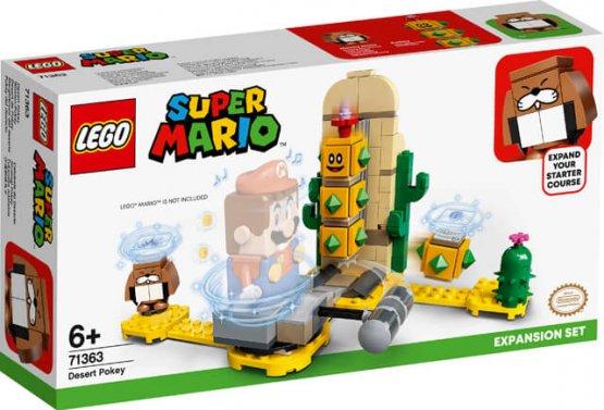 LEGO 71363 Super Mario  game desert de pokey