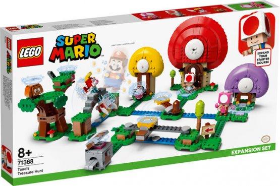 LEGO 71368 Ensemble d'extension de la chasse au trésor de Toad