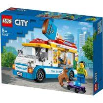 Les enfants peuvent devenir des héros de tous les jours avec cet ensemble de jeu LEGO City Le camion de crème glacée amusant (60253)