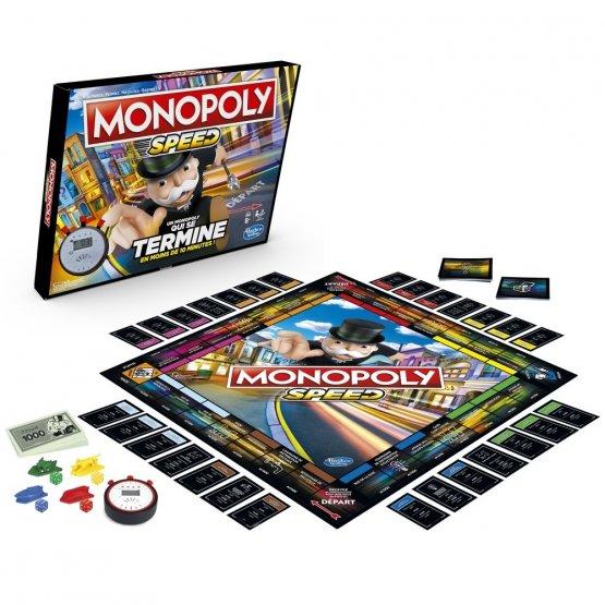 Monopoly Speed hasbro jouet enfant p'tit ange tunisie