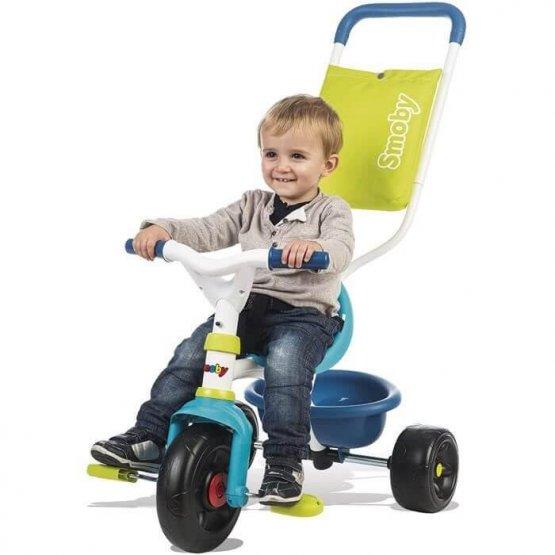 Smoby – Tricycle Evolutif Be Fun Confort – Bleu
