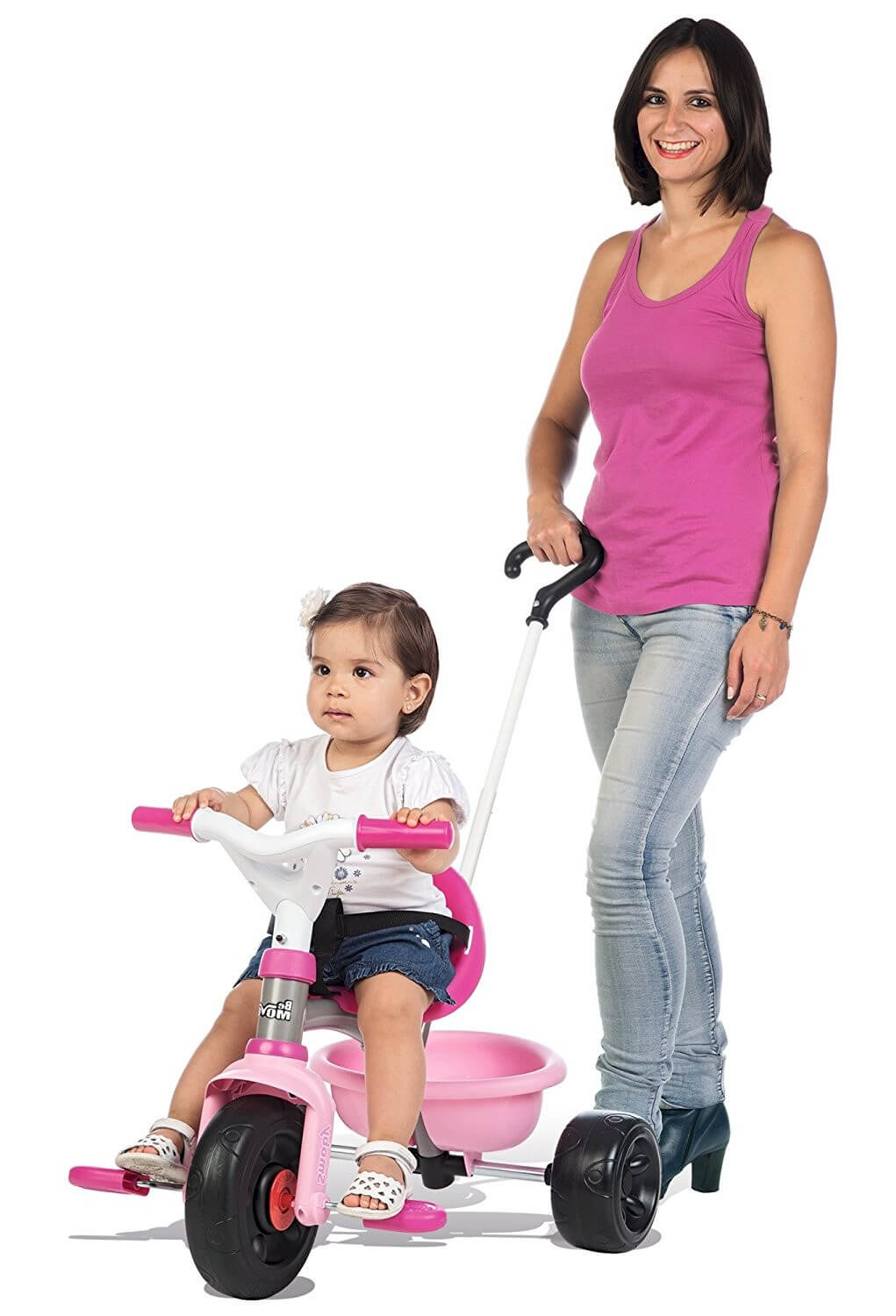 smoby-tricycle-be-move rose