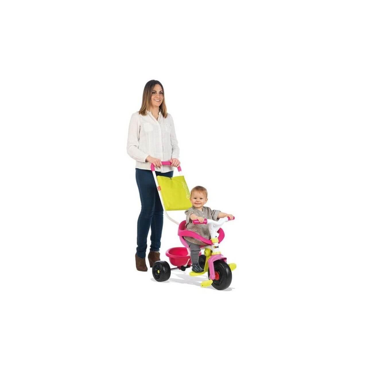 smoby-tricycle-enfant-evolutif-be-fun-confort-rose_4_v3