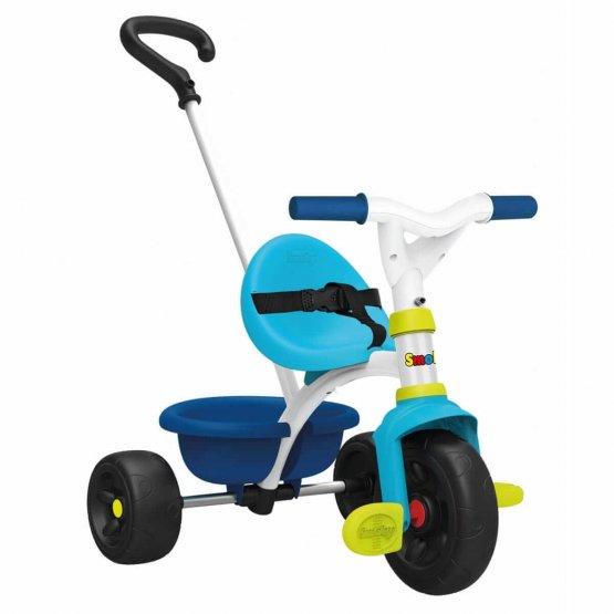 SMOBY Tricycle be fun bleu