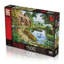 KS-puzzle Cottage by the Lake jouet enfant adulte ks p'tit ange tunisie