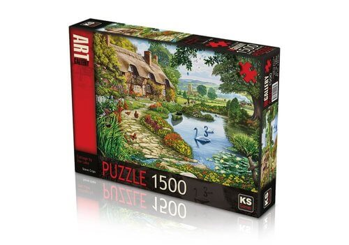 KS-puzzle Cottage by the Lake