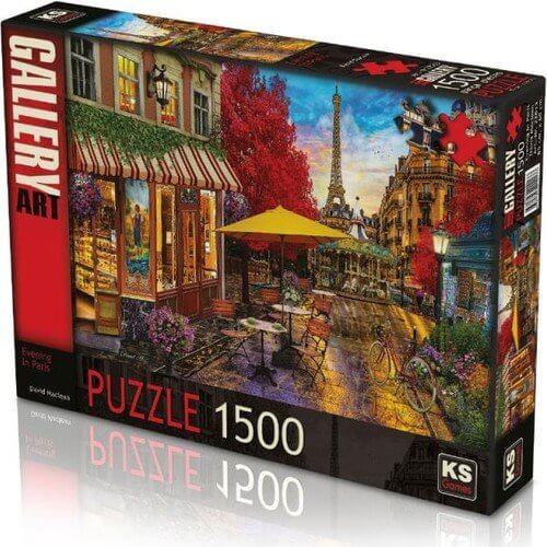 Puzzle Ks 1500 pièces SOIR PARIS