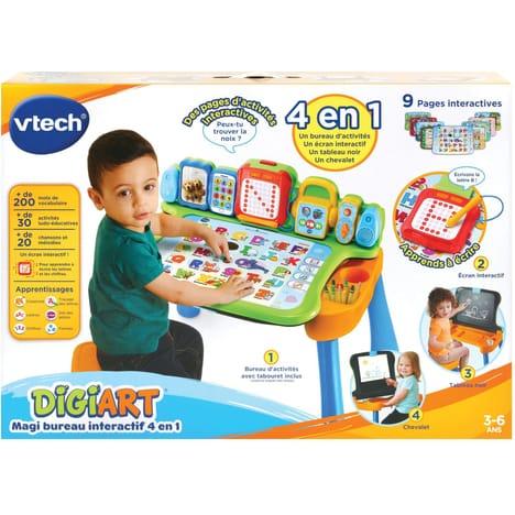 Magi bureau interactif 4 en 1 vtech jouet enfant p'tit ange tunisie