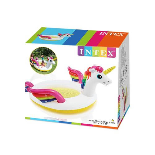 Intex Piscine Fontaine Gonflable Licorne