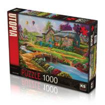 Puzzle KS 1000 pièces Chevaux Sauvages jouet enfant p'tit ange tunisie