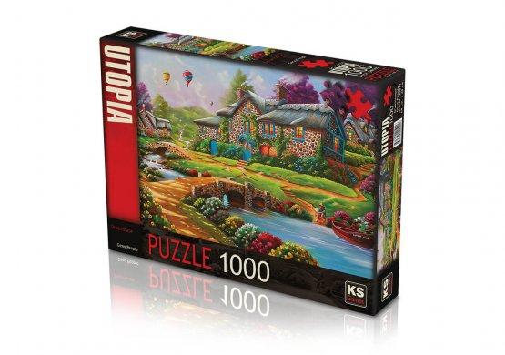 KS- Puzzle1000 pcs Chevaux Sauvages