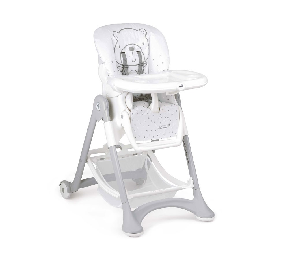 Chaise haute campione Teddy gris 247