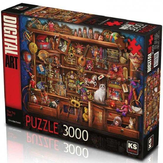 KS- puzzle 3000 pcs