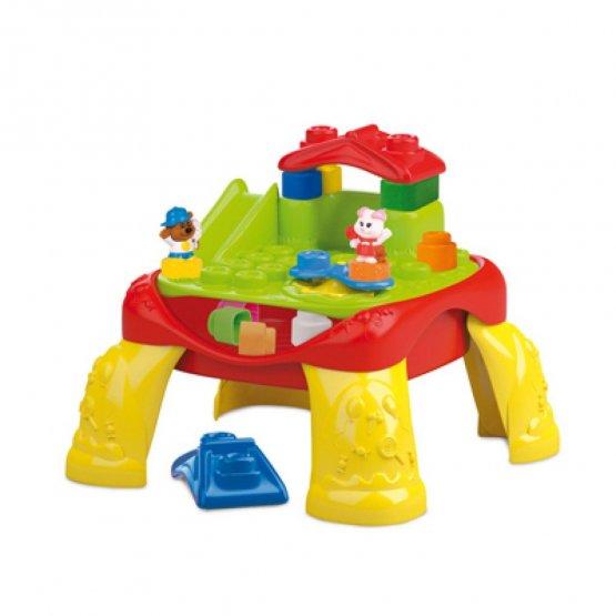 clementoni ma table lego jouet bébé p'tit ange tunisie