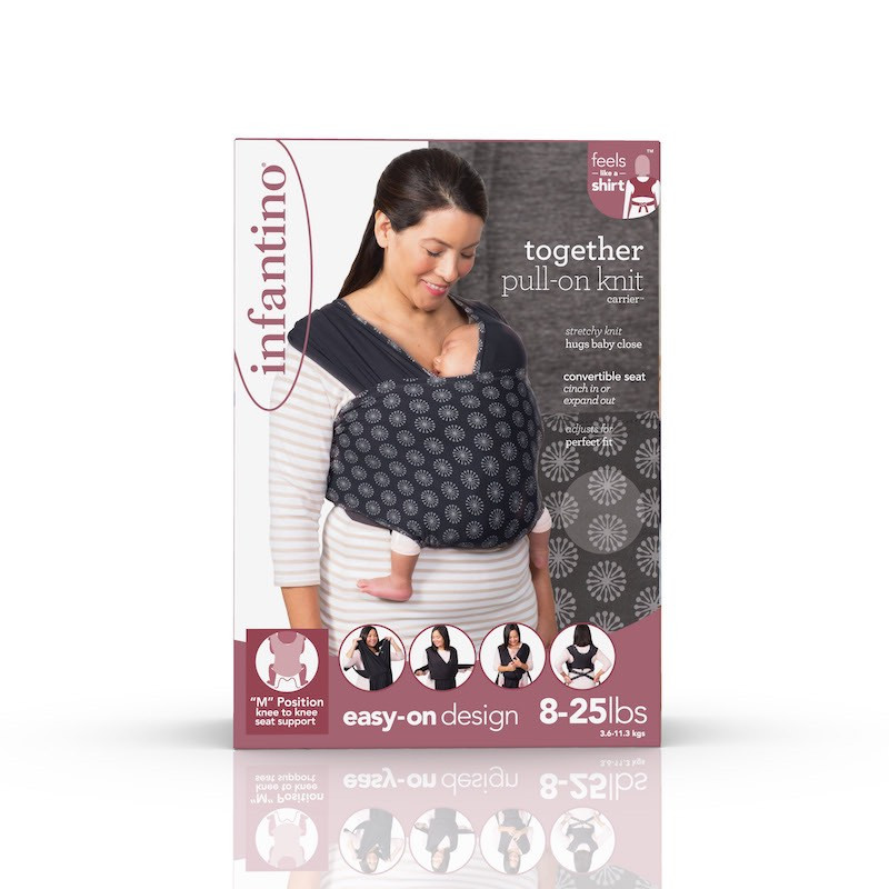 Infantino Porte bébé together soft knit