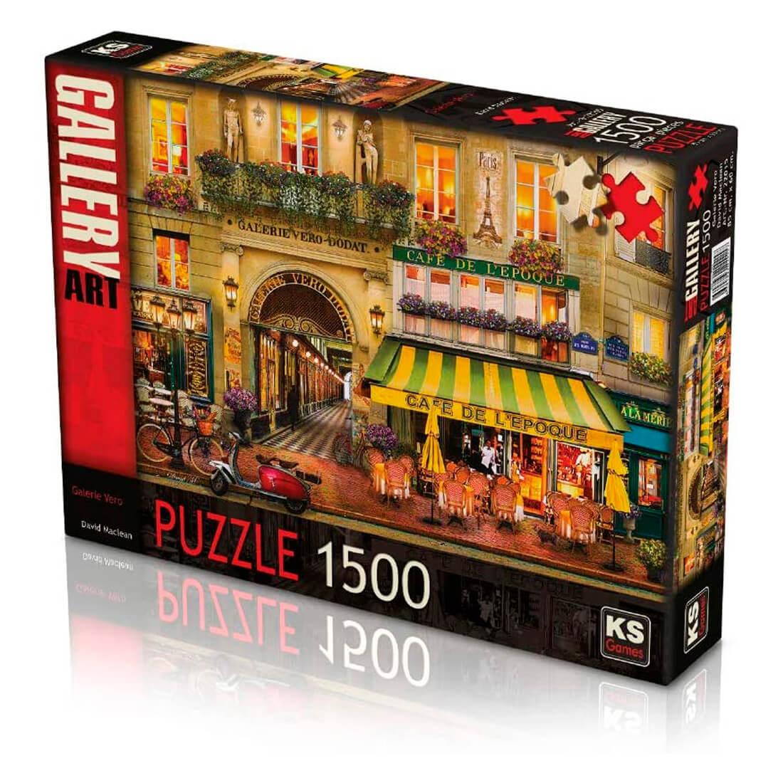 KS- puzzle 1500 pcs Galerie Vero