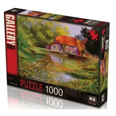 KS- puzzle 1000 pcs Hamoshire Millpool